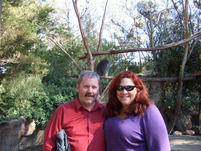 John Pearce and I meet and tour the zoo
